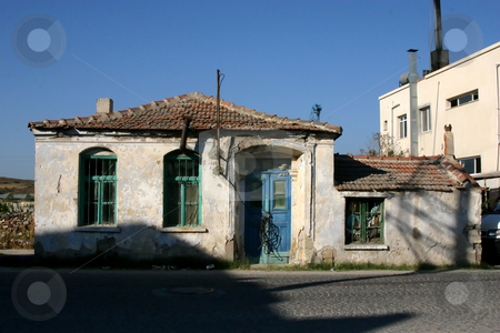 Unoccupied House stock photo, Unoccupied House in Turkey by Mehmet Dilsiz