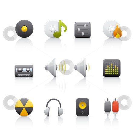 Icon Set - Audio Equipment