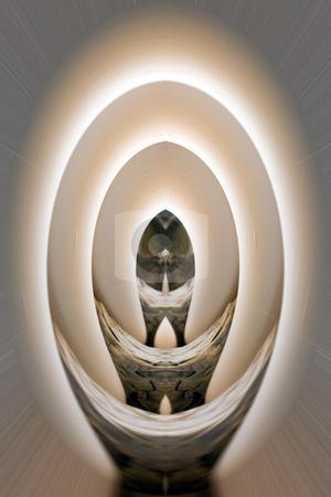 Digital Abstract Art - Egg Tunnel stock photo, Abstract Art - Egg Tunnel by Mehmet Dilsiz