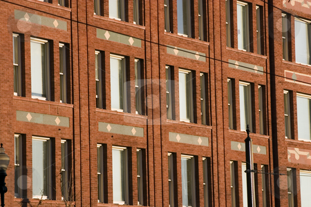 Downtown Office Building stock photo, Close up on a Downtown Office Building by Mehmet Dilsiz