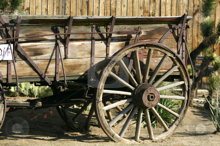 Old Antique Wago stock photo, Close up on an Old Antique Wagon by Mehmet Dilsiz