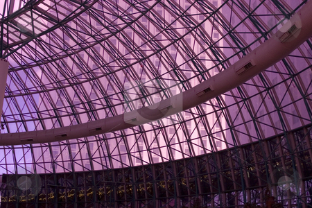 Ceiling in a Dome stock photo, Ceiling in a Dome in Las Vegas by Mehmet Dilsiz