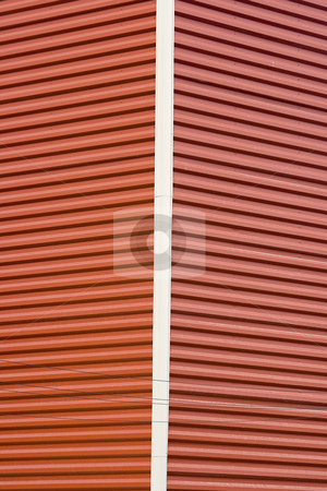 Abstract Pattern stock photo, Abstract Pattern of a Building Corner with siding by Mehmet Dilsiz
