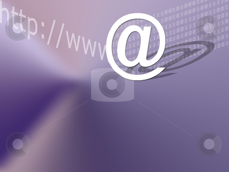 Abstract Background @ & Internet stock photo, Abstract background by Mehmet Dilsiz