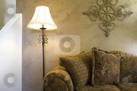Trendy Modern Dining Room stock photo, Close up on a Trendy Modern Dining Room by Mehmet Dilsiz