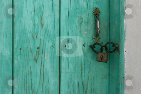 The Door stock photo, The Blue Door by Mehmet Dilsiz