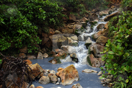 Sulfur Stream stock photo,  by Rhys Marsh