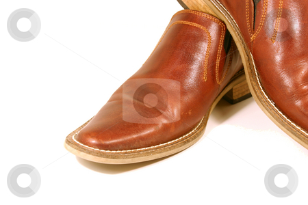 Brown Shoes stock photo, Isolated picture of a pair of Brown Shoes by Mehmet Dilsiz