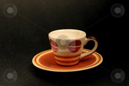 Turkish Coffee Mug stock photo, Turkish Coffee Mug black background by Mehmet Dilsiz
