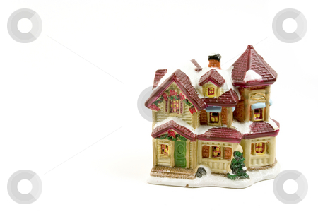 Christmas Decoration House - 5 stock photo, Christmas Decoration House - 5 by Mehmet Dilsiz