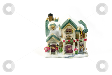 Christmas Decoration House - 1 stock photo, Christmas Decoration House - 1 by Mehmet Dilsiz