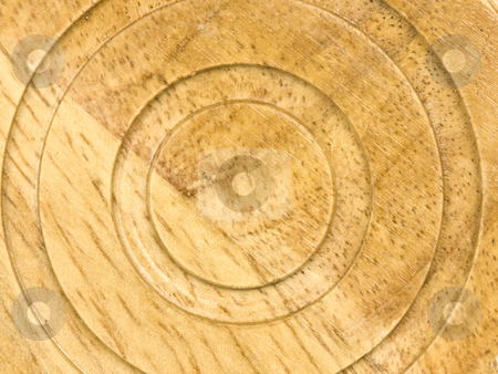 Wooden Circular Background stock photo, Macro of Wooden Circular background by John Teeter