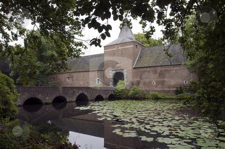 Castel arcen stock photo, Castle arcen Holland with water and big gardens by Chris Willemsen