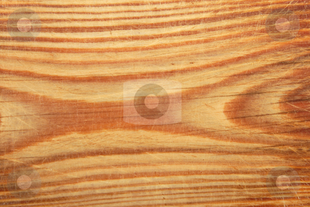 Wood background. stock photo, Natural wood background with scratchs on surface. by Andrey Khritin