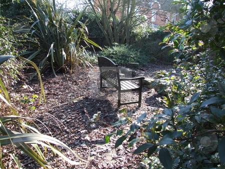 Garden Bench stock photo, Garden Bench by Stephen Lambourne
