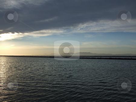 Sunset Over Lake stock photo, Sunset Over Lake by Stephen Lambourne