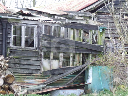 Old Wooden Building stock photo, Old Wooden Building by Stephen Lambourne