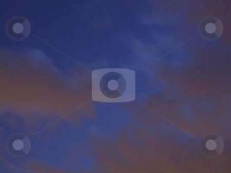 Dark Blue Morning Sky stock photo, Dark Blue Morning Sky by Stephen Lambourne