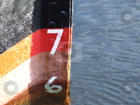 Water and Boat Abstract stock photo, Water and Boat Abstract by Stephen Lambourne