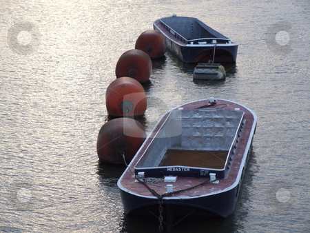 River Thames Barges  stock photo, River Thames Barges by Stephen Lambourne