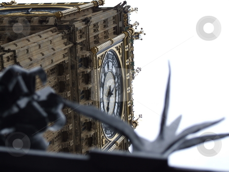 Big Ben Abstract Sky Shot stock photo, Big Ben Abstract Sky Shot by Stephen Lambourne