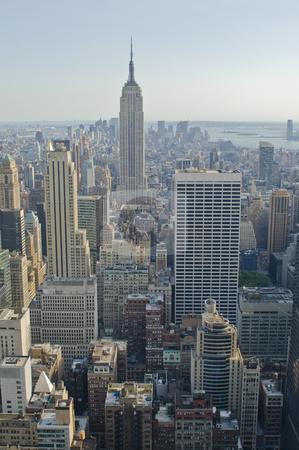 Skyscrapers stock photo, Skyscrapers in New York by Fredrik Elfdahl