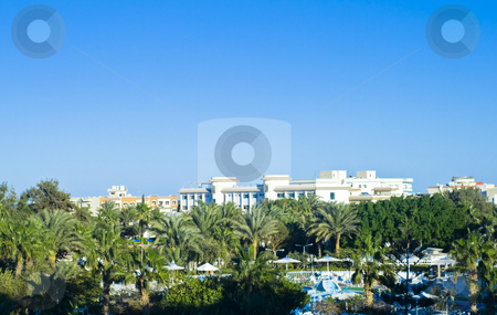 Summer resort stock photo, Relaxing summer resort by Fredrik Elfdahl