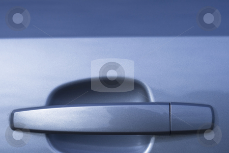 Car handle in a close up stock photo, Car handle in a close up by Fredrik Elfdahl
