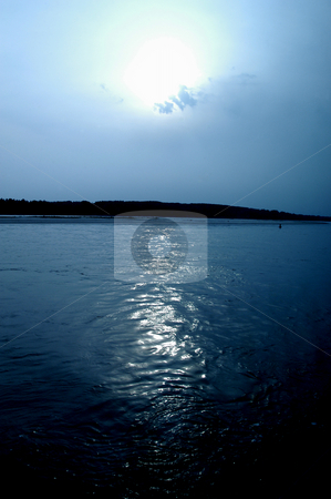 The Blue Danube stock photo, Serbia, The Blue Danube by David Ryan