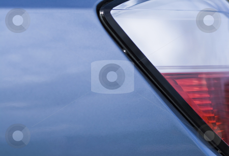 Red and white car lights stock photo, Red and white car lights in a close up by Fredrik Elfdahl