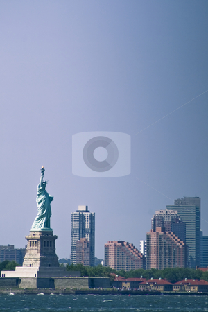 Statue of Liberty stock photo, Statue of Liberty by Fredrik Elfdahl