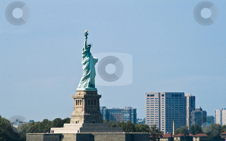 Statue of Liberty stock photo, Statue of Liberty by Fredrik Elfdahl