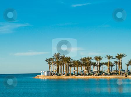 Summer resort stock photo, Relaxing summer resort by Fredrik Elfdahl