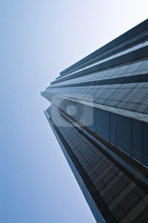 Skyscraper stock photo, Skyscraper in New York by Fredrik Elfdahl