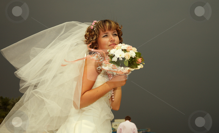Wedding stock photo, Day of wedding the most solemn and unforgettable in a life of each person. by Sergey Goruppa