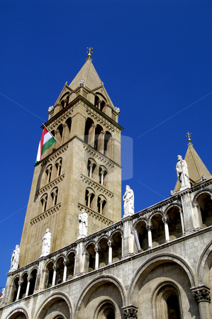 St. Peter & Paul Cathedral, Pecs stock photo, Hungary, Pecs, Pecs Cathedral (11th Cent.) by David Ryan