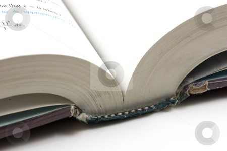 Close up on an Open Book stock photo, Close up on an Open Book by Mehmet Dilsiz