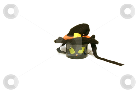 Halloween Decoration  stock photo, Halloween Decoration - Little Cat candle by Mehmet Dilsiz