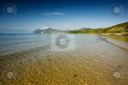 Morfa Nefyn stock photo, Morfa Nefyn beach on the Llyn Peninsula North Wales by Stephen Meese