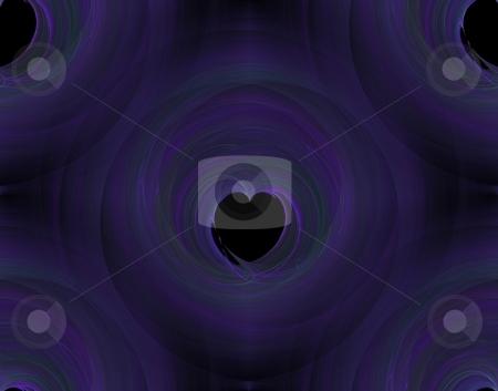 Seamless Background Fractal stock photo, Abstract fractal abstract background with a seamless repeat pattern by Henrik Lehnerer