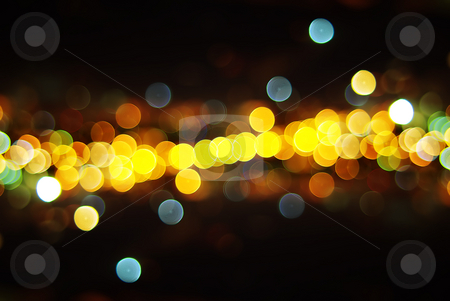 Lights of the City stock photo, Out of Focus Lights during the Night, by Germán Ariel Berra