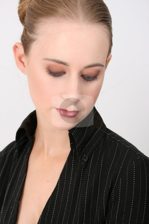 Business Woman stock photo, Beautiful young business model in professional attire by Vanessa Van Rensburg