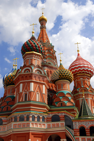St.Basil's Cathedral in Moscow stock photo, St.Basil's Cathedral in Moscow on Red Square by Julija Sapic