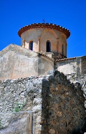 Monastery of the Panayia Gouverniotissa stock photo, Travel photography: old monastery of the Panayia Gouverniotissa in Crete by Fernando Barozza