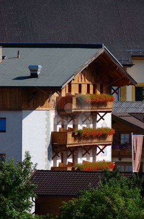 Chalet in Austria stock photo, Typical chalet in Neustift / Tyrol / Austria by Andre Janssen