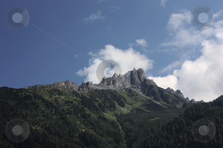 Mountains stock photo, Summit of the Elfer in Tyrol / Austria by Andre Janssen