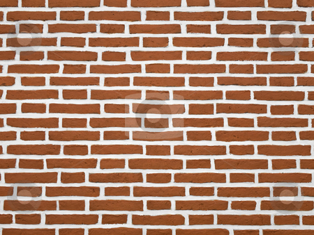 Brick wall stock photo, A red brick wall. Great as background. by Ignacio Gonzalez Prado
