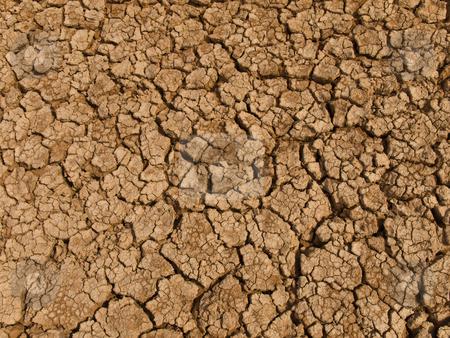 Drought stock photo, A baked earth soil after a long drought. by Ignacio Gonzalez Prado