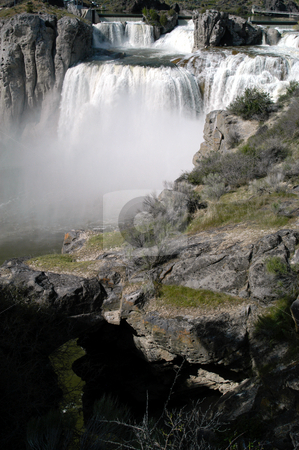 Shoshone Falls stock photo, USA, Idaho, Twin Falls, Shoshone Falls by David Ryan