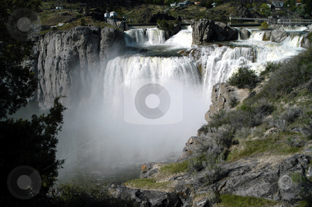 Shoshone Falls stock photo, USA, Idaho, Twin Falls, Shoshone Falls by David Ryan